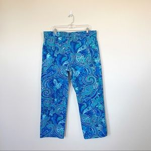 [Lilly Pulitzer] Palm Beach Paisley Phipps Pants